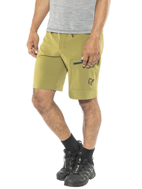 Norrøna Falketind Flex1 Shorts Men Olive Drab